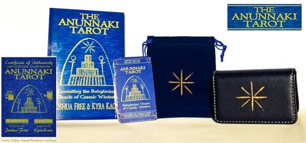 Limited Edition* ANUNNAKI TAROT – Babylonian Oracle of Cosmic Wisdom